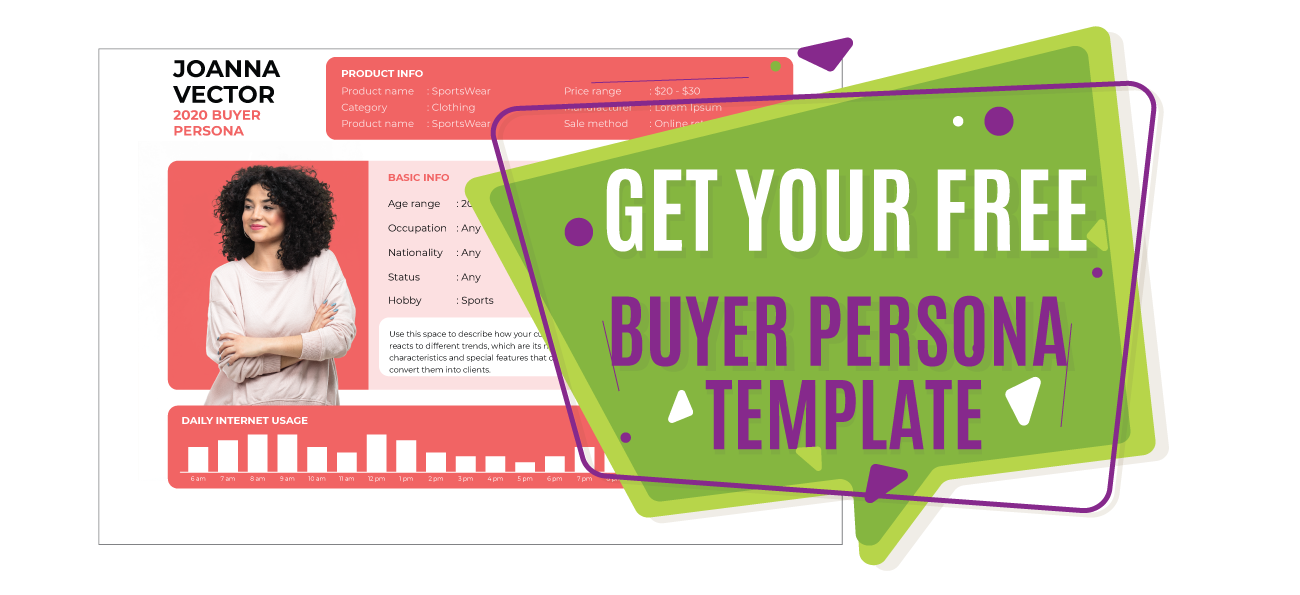 Call-to-action Buyer Persona. Digital strategy