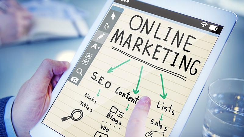 Online digital marketing strategy